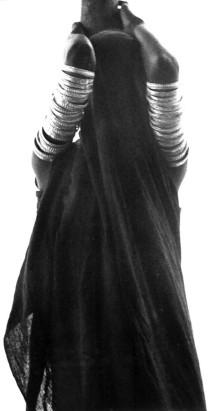 Black veiled