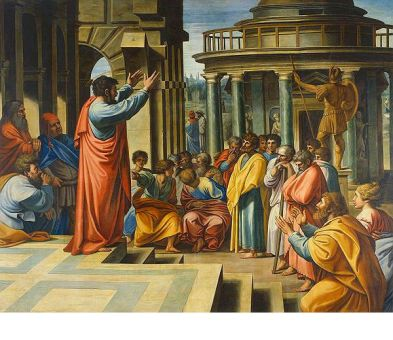 Giovanni Paolo Pannini, Apostle Paul Preaching on the Ruins