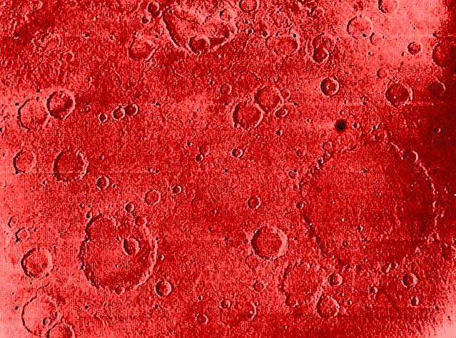 War Craters Mars