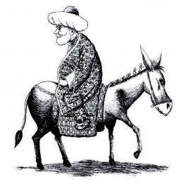hodja-on-donkey