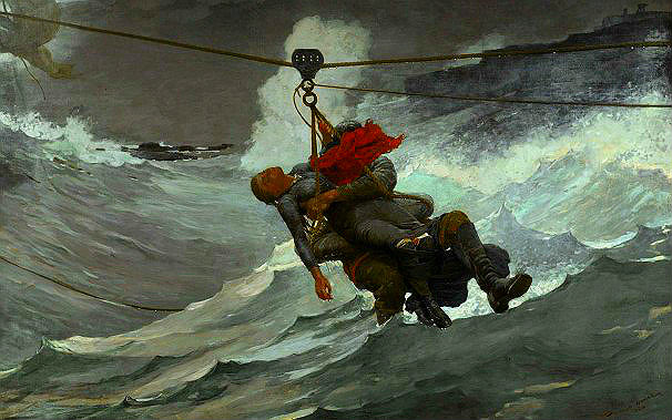 "Winslow Homer's ""The Life Line,"" 1884"
